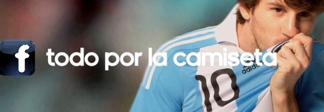 Messi conquista Facebook también.
