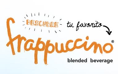 Tu elección de frappuccino, digitalizada!