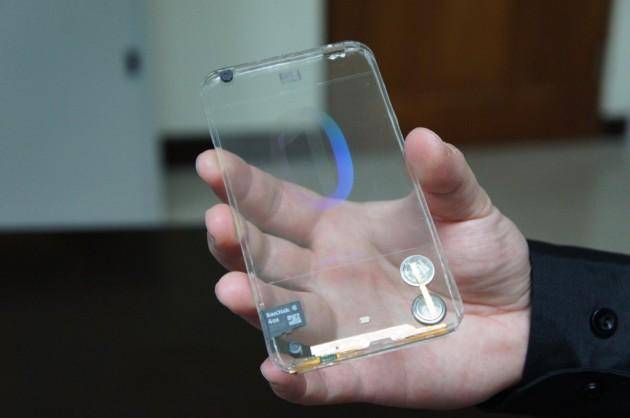Smartphone Transparente