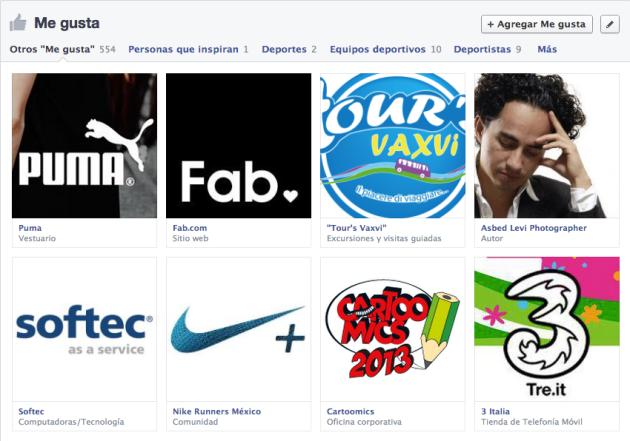 Así es el nuevo perfil de Facebook