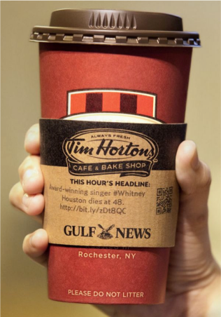 Gulf News & Tim Hortons