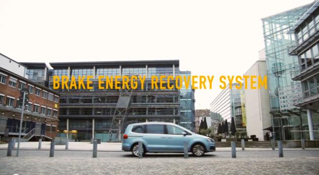 Seat break energy recovery system