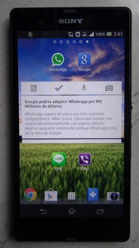 Google quiere comprar Whatsapp; rumores