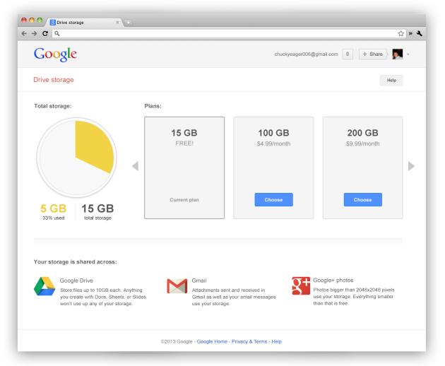 Gmail se fusiona con Drive