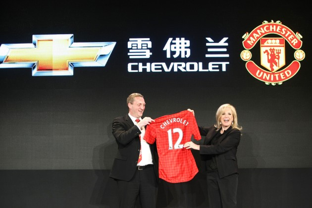 Chevrolet Global Football Announcement Event