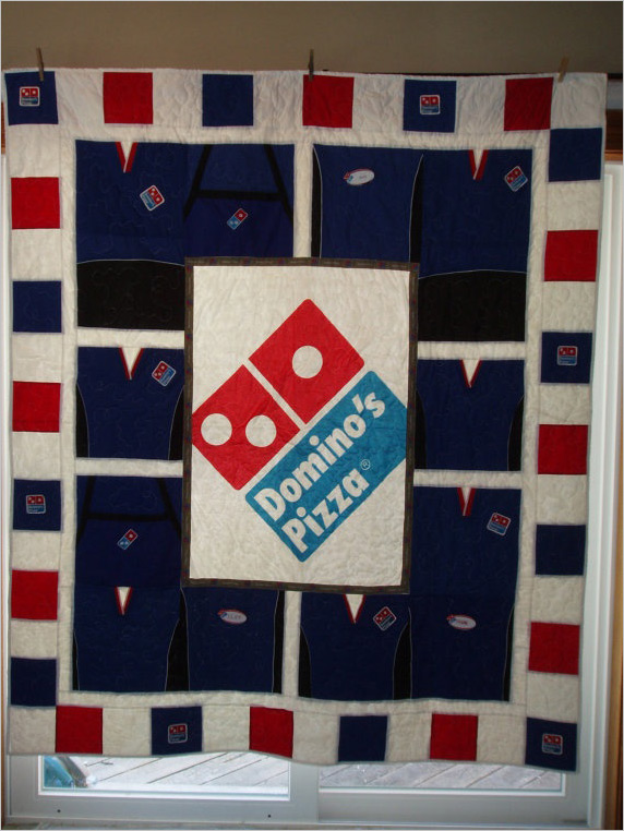 Domino's Pizza Second Hand Logo