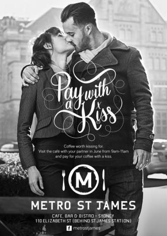Pay with a Kiss