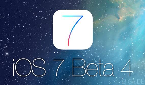 iOS Beta 4