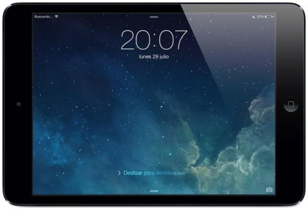 iPad ios7