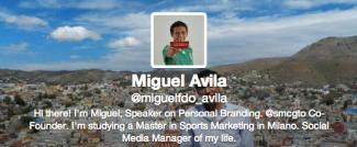 Miguel Ávila @miguelfdo_avila